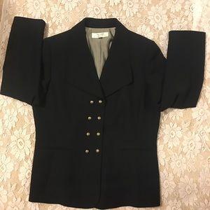 Tehari by Arthur Levine Navy Blue Suit Jacket